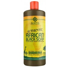 Alaffia African Black Soap For All Skin Peppermint