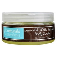 Essentials Lemon & White Tea Salt Body Scrub